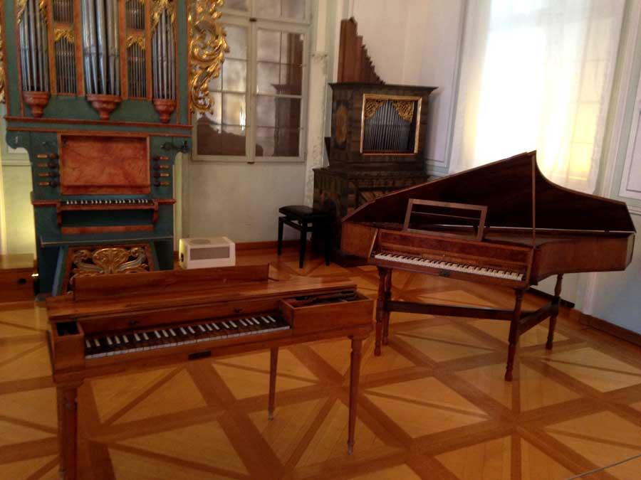 Inside Mozart's birthplace