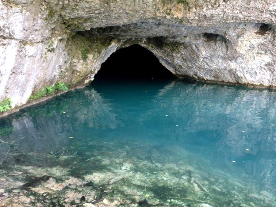At Plitvice Lakes