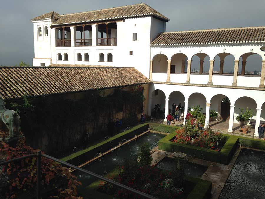 The Alhambra Gardens are pretty sweet