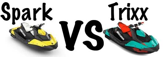 sea doo spark vs sea doo spark trixx. Black Bedroom Furniture Sets. Home Design Ideas