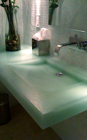 Jetson Green  Recycled and Recyclable Surface Option