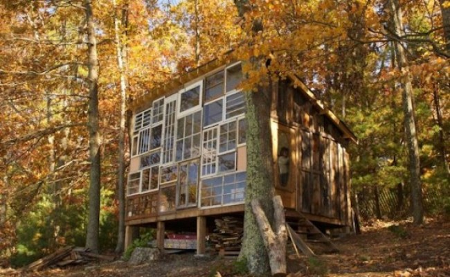Jetson Green West Virginia Self Build Tiny House