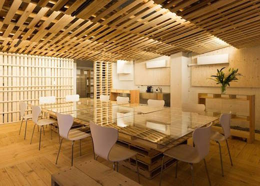 Jetson Green  Awesome Office Conversion Using Pallets