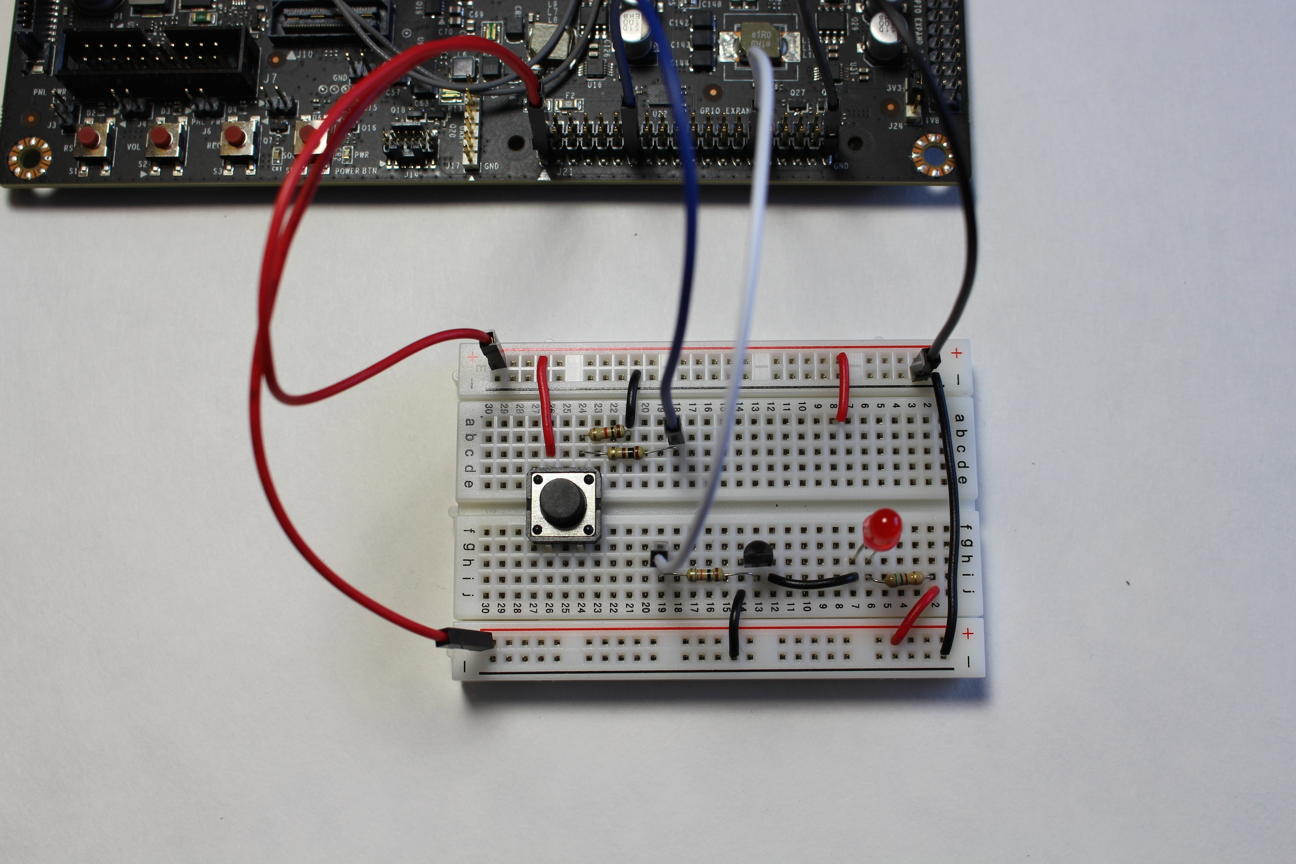 Interfacing GPIO on the Jetson TX1 with a breadboard