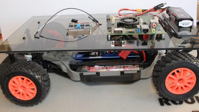 Jetson RACECAR Lower Platform Test Fit