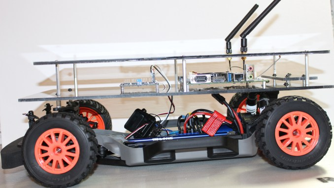 Jetson RACECAR with Upper Platform