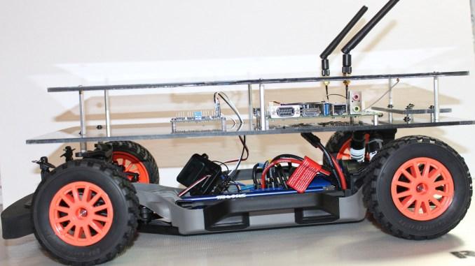 Jetson RACECAR with Upper Platform