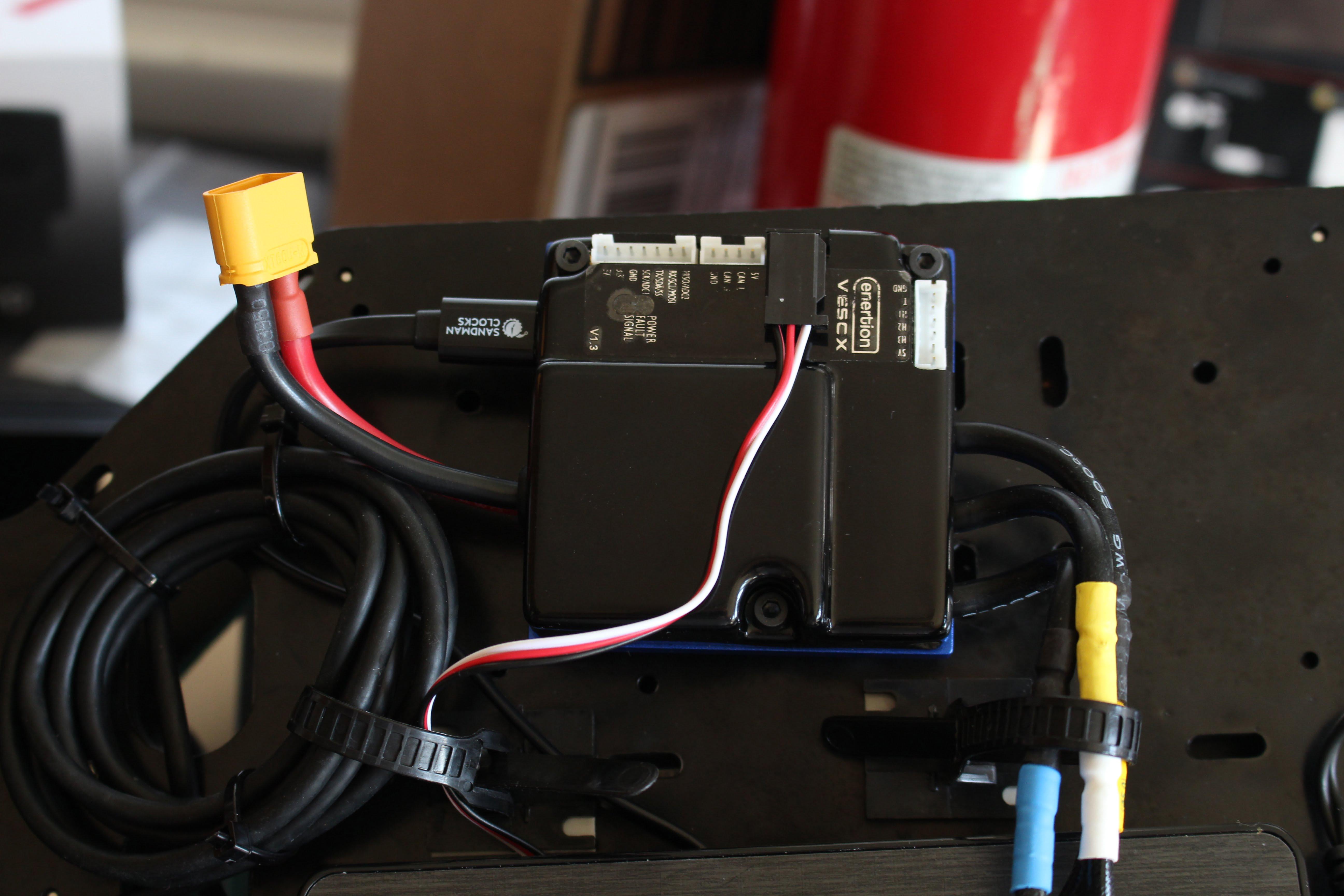 VESC Wiring