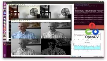 OpenCV, Python, Onboard Camera - NVIDIA Jetson TX2 - JetsonHacks