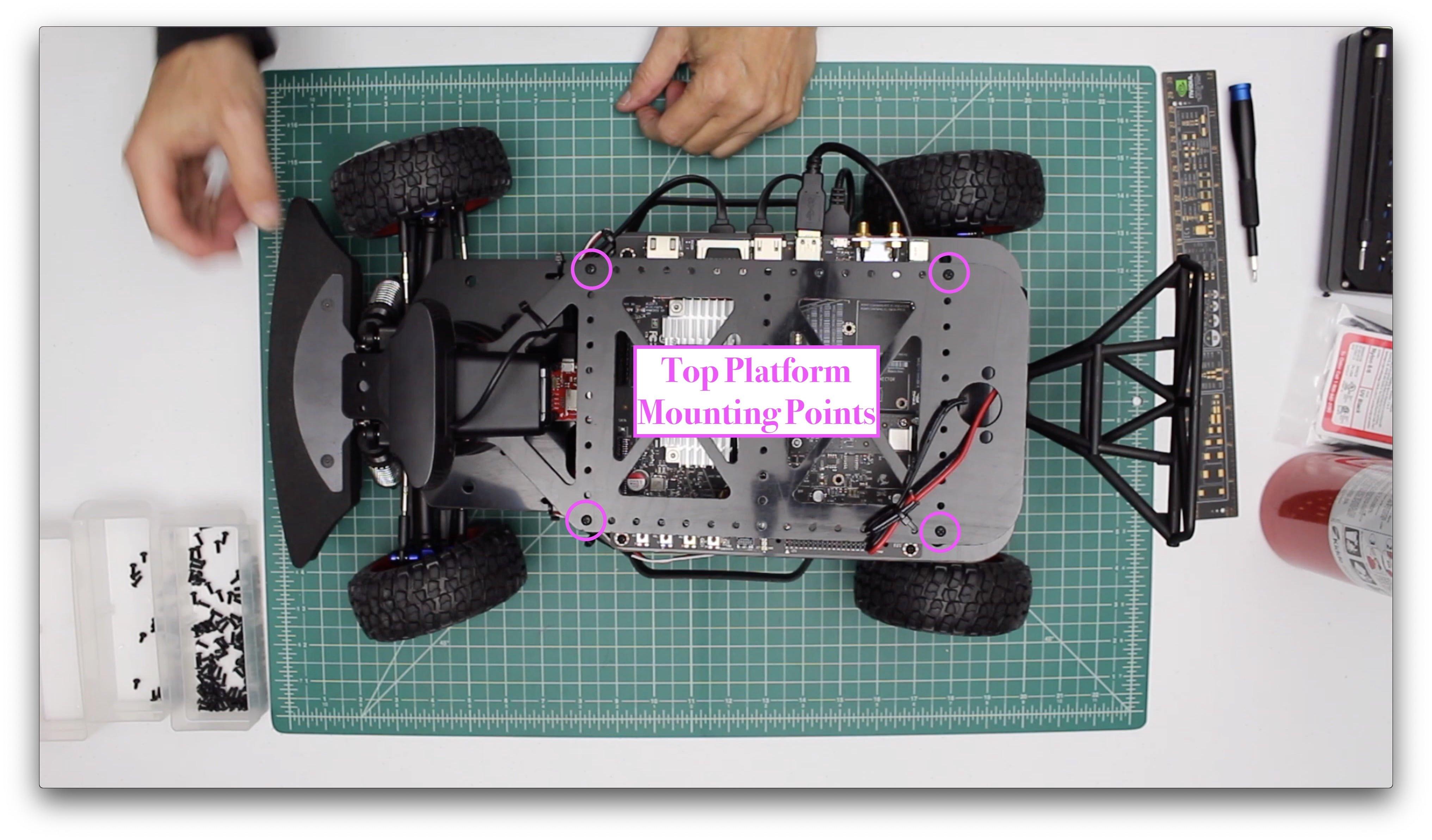 Top Platform Mounting Points