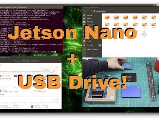 Jetson Nano - USB Drive