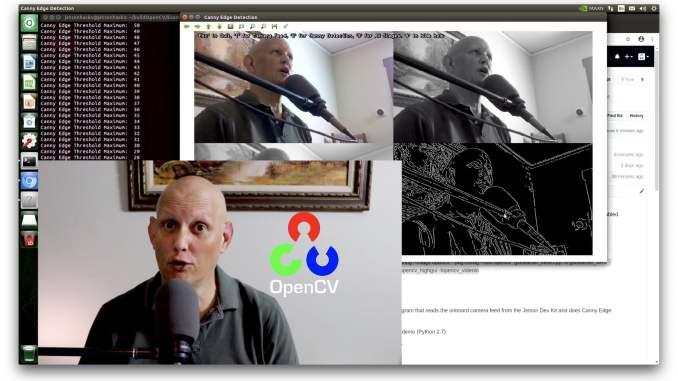 OpenCV 4 on Jetson Nano