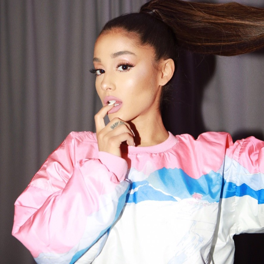 Ariana Grande Without Wig
