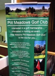 Pitt Meadows Golf Club Poster