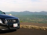 Cadillac ATS 2.0T on the Blue Ridge Parkway