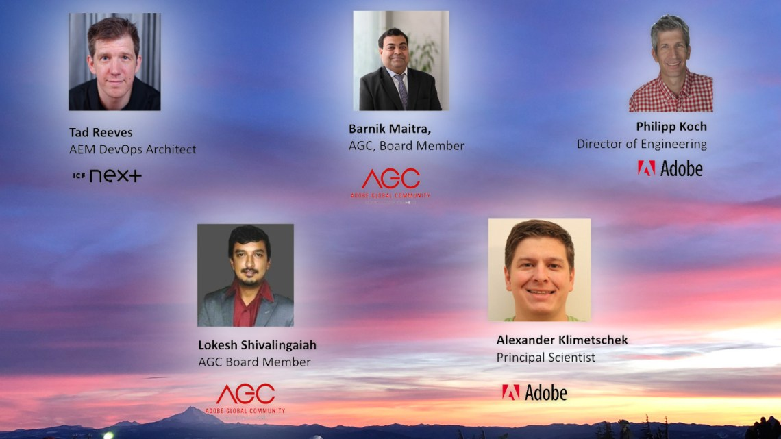 Panel Discussion on AEM as a Cloud Service
