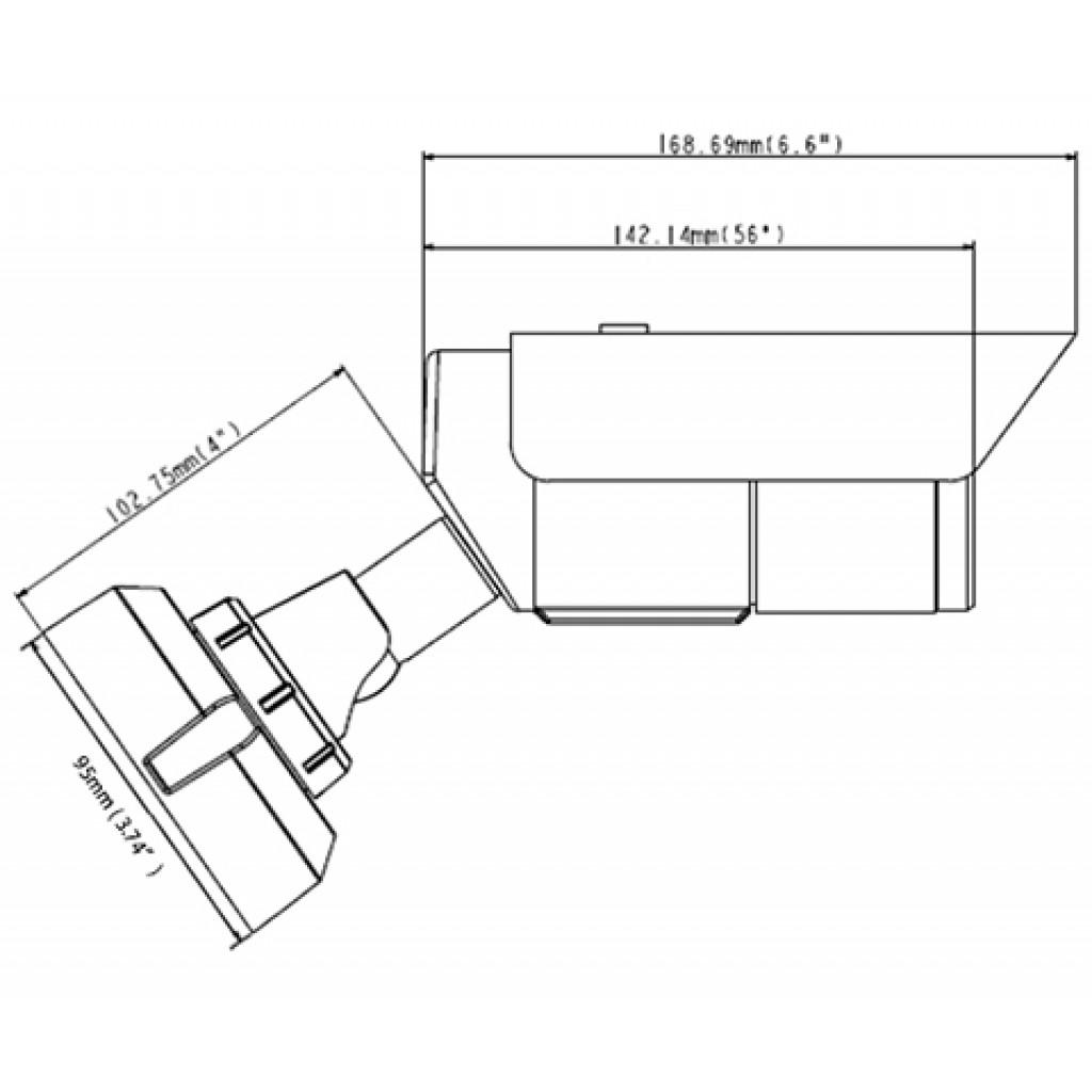 Geovision GV-ABL4701 Series 4MP H.265 Low Lux WDR IR