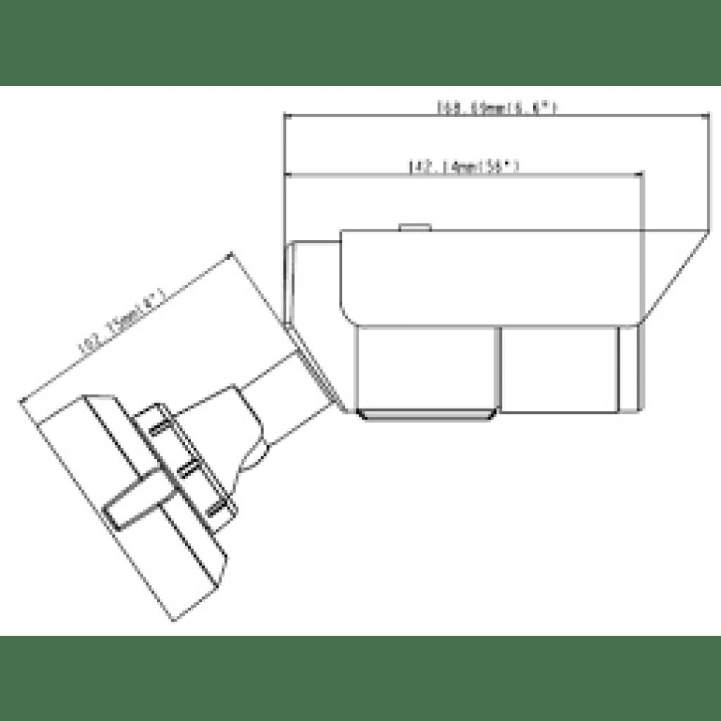 GV-EBL2111 2MP H.264 4.3X Zoom Super Low Lux WDR IR Bullet