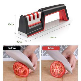 Der 3 Stufen Messerschärfer von Innoo Tech