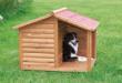 Hundehaus aus Holz zum selber bauen