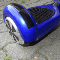 ROBWAY-W1 Hoverboard Test