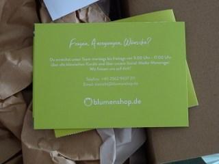 Sortiment von blumenshop.de