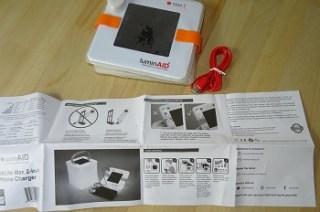 Ausstattung der LuminAID Solarlaterne im Test