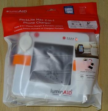 LuminAID Solarlaterne Test-Bild 1