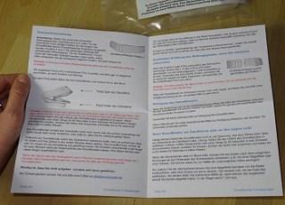 Verpackung und Lieferung der Snoremender Anti-Schnarchschiene im Test