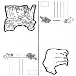Basteln Karten - Malvorlagen Basteln