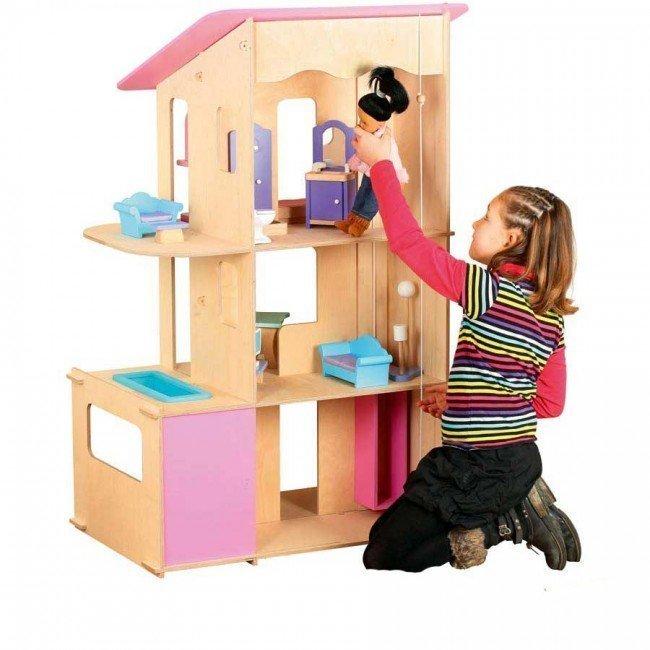 Construire Une Maison De Barbie En Bois Affordable Maison
