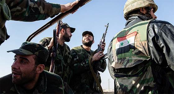 L'armée nationale repousse Daech près de Palmyre