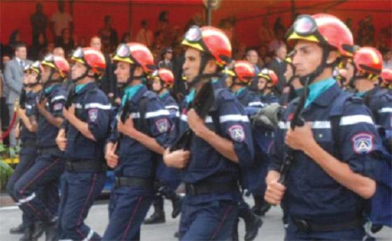 Les pompiers sur le qui-vive