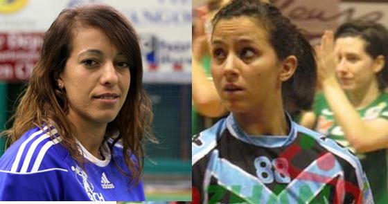 Handball (filles) : Tizi Nabila et Nadia Bellakhdar annoncent la couleur