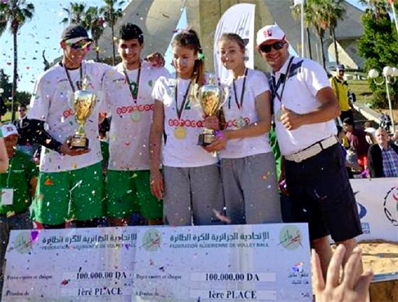 Les sœurs  Bousner et le duo Benbouali-Haddaoui vainqueurs