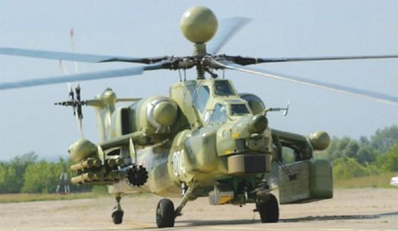 Des hélicoptères d'attaque Mi 28NE livrés à l'Algérie