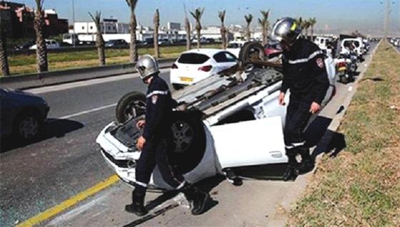 Lancement d'une campagne de sensibilisation aux accidents de la route