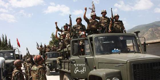 L'armée arabe syrienne entre dans la province de Raqa
