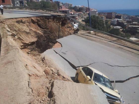 Important glissement terrain à Annaba: le wali ouvre une enquête