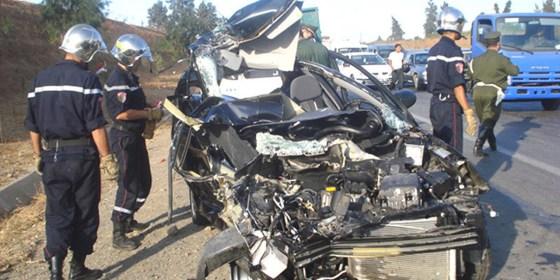 Accidents de la route : 34% des personnes tuées ont moins de 30 ans