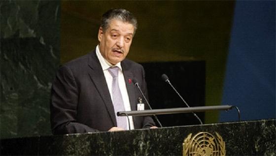 M. Boudiaf plaide à l'ONU pour une mobilisation mondiale contre le Sida