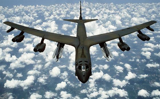 Deux bombardiers US longent  à nouveau la frontière russe