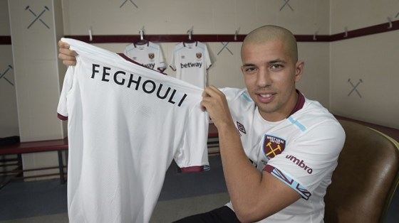 Officiel : Feghouli signe 3 ans à West Ham
