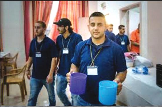 Une équipe de bénévoles active pendant le ramadhan
