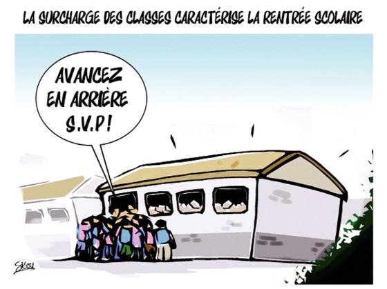 La Surchage des classes