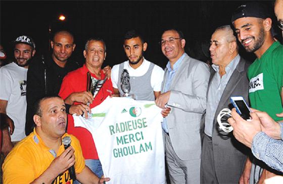 Une clôture mémorable avec Slimani, Mahrez, Ziani et Antar Yahia