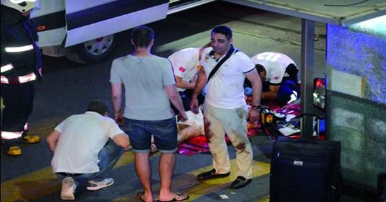 Un Algérien blessé dans l'attentat d'Istanbul