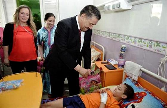 Construction prochainement d'un hôpital pédiatrique