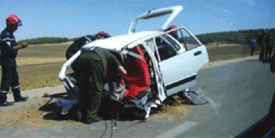Accidents de la circulation : 5 morts et 10 blessés en deux jours