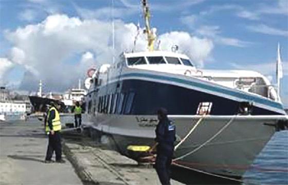 La ligne maritime Alger-Cherchell opérationnelle jusqu'au 30 septembre